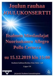 Nuorisokuoro Allegro - Joulukonsertti 2019